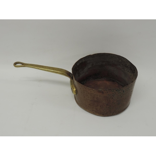 535 - Copper and Brass pan...