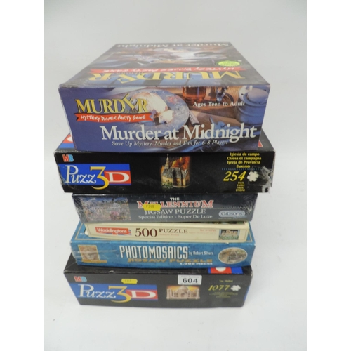 604 - Quantity of puzzles...