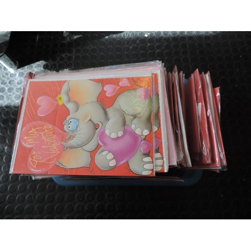 617 - Box of Valentine cards...