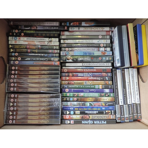 640 - Box of DVDs...