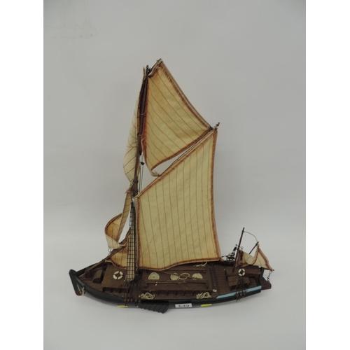 649 - Model boat...