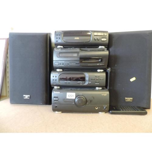 651 - Technics Hifi system...