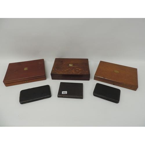 662 - Jewellery boxes...