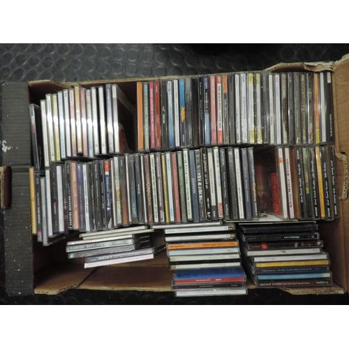 690 - Box of CDs...