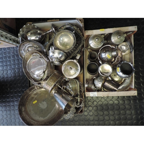 700 - Quantity of Silver plate...