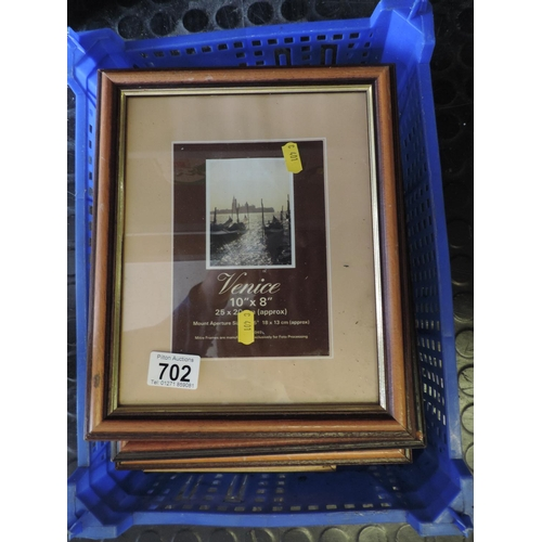 702 - Quantity of picture frames...