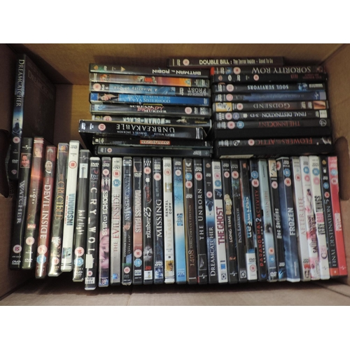 703 - Box of DVDs...