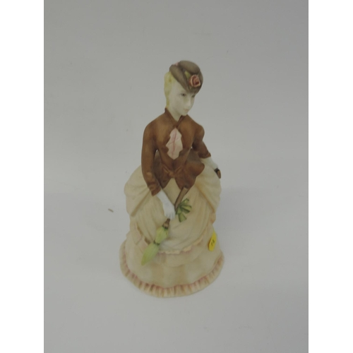722 - Royal Worcester figurine - Sunday Morning...