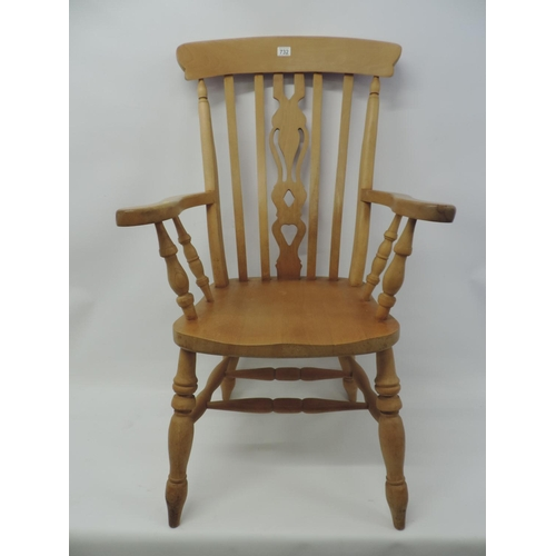 732 - Solid Pine Windsor chair...