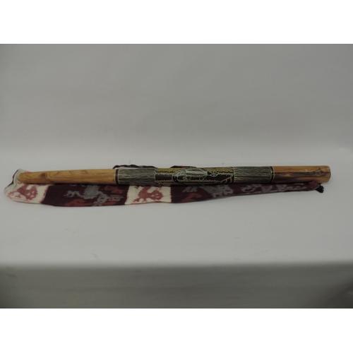 733 - Aboriginal didgeridoo - by Joseph Cookney...