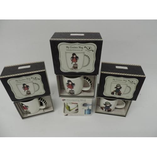 735 - 4x Gift mugs...