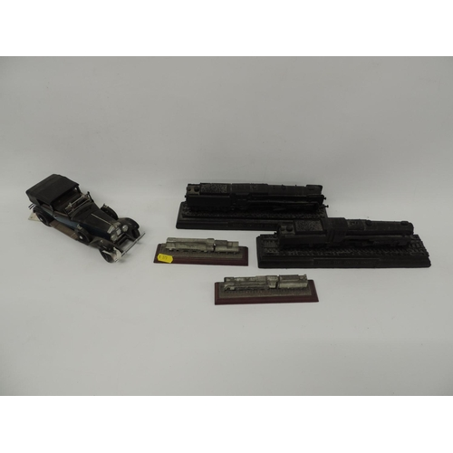 763 - Royal Hampshire miniatures locomotives, other locomotive models and model car...