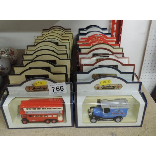 766 - Quantity of Days Gone boxed model vans and buses...