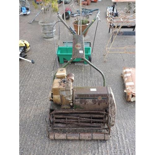 82 - Webb petrol cylinder mower...