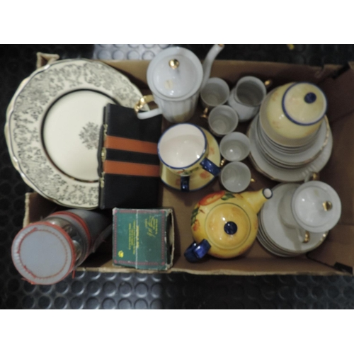 829 - Box of misc china etc...