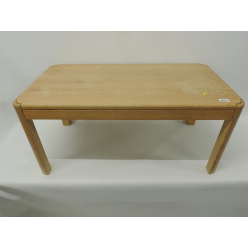 851 - Lightwood coffee table - 37''x 21''x 16''...