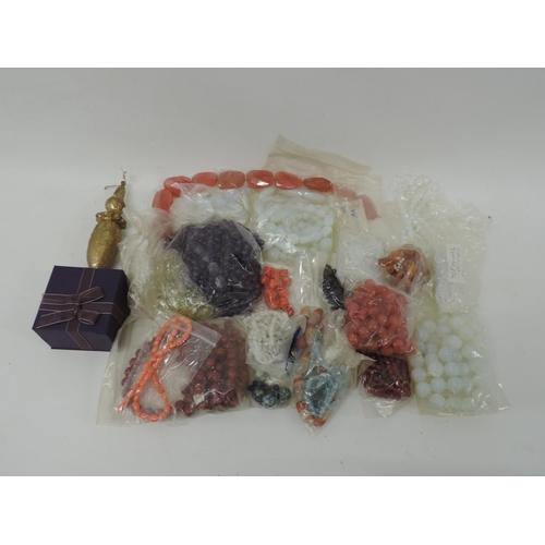 856 - Quantity of costume jewellery...