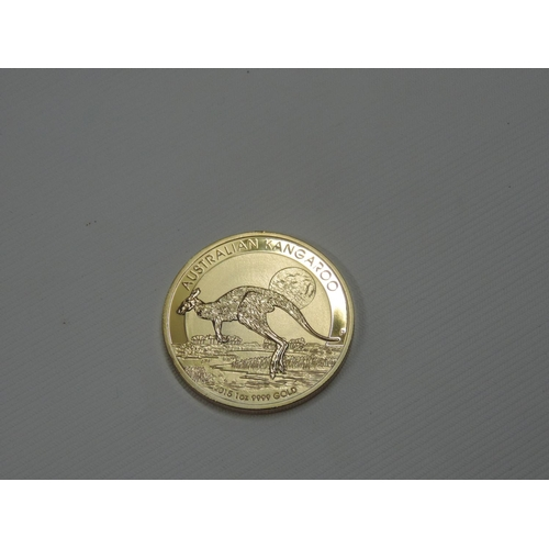 876 - Gold coloured Australia coin...