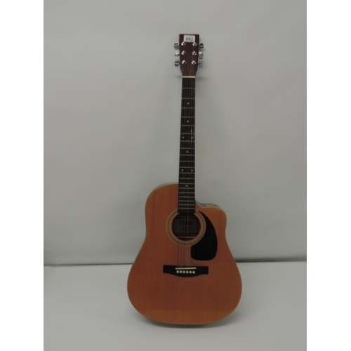 882 - Rikter acoustic guitar...