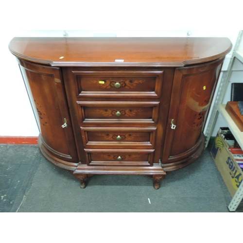 924 - Reproduction sideboard with four drawers and two cupboards - 54''x 17''x 38''...