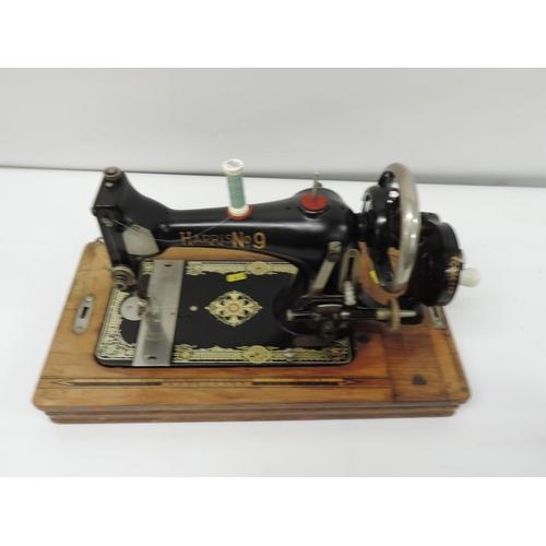 929 - Harris No 9 sewing machine...