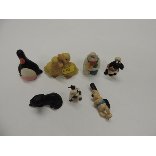 944 - Ornaments - Wallace and Gromit etc...