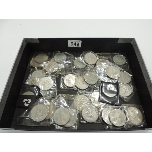 949 - Quantity of commemorative coins...