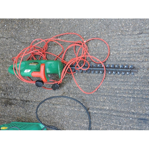 96 - Qualcast hedge trimmer...