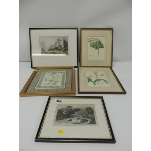 962 - Framed pictures...