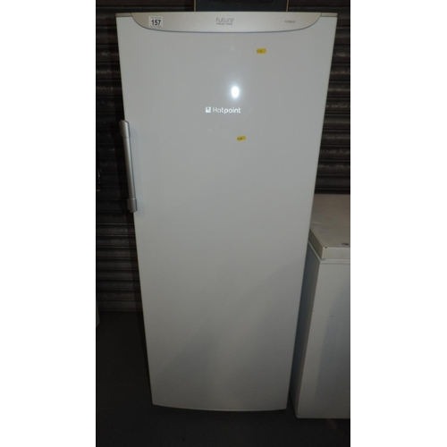 157 - Hotpoint Future upright freezer...