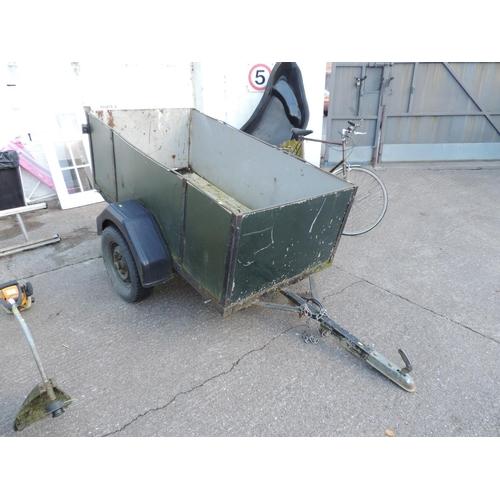92B - Box trailer...
