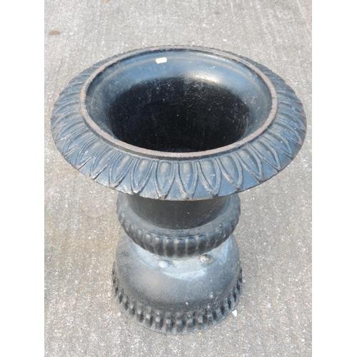 93A - Cast iron planter...