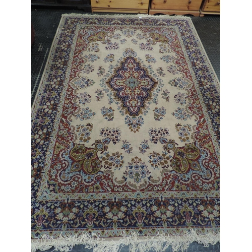 747A - Large patterned rug - 79x 118''...