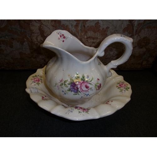 863A - Wash stand jug and bowl...