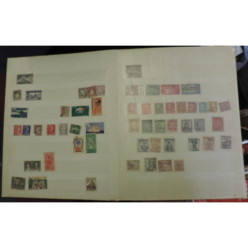 924A - Stamp guide and an album of stamps...