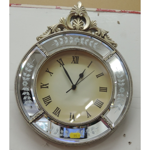 882B - Decorative wall clock...