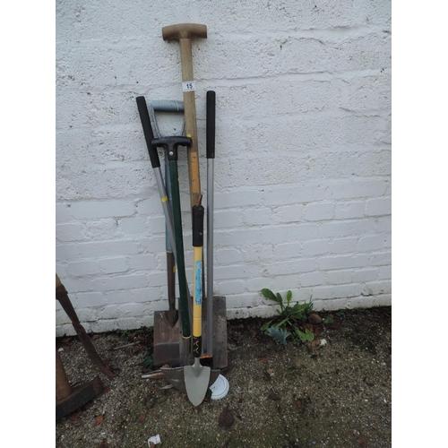 15 - Quantity of Garden Tools...