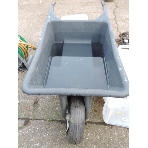 25 - Plastic Wheelbarrow...