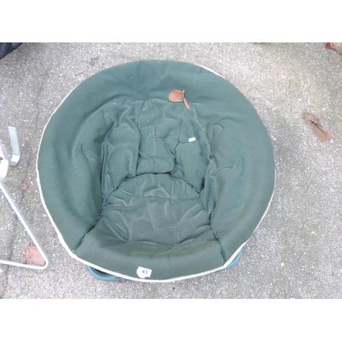 43 - Folding Garden Chair...