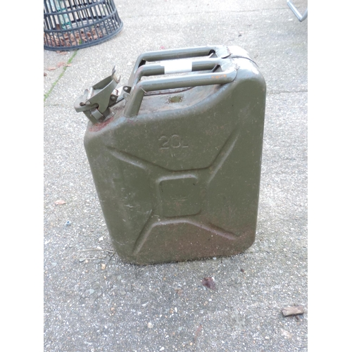 47 - Metal Jerry Can...