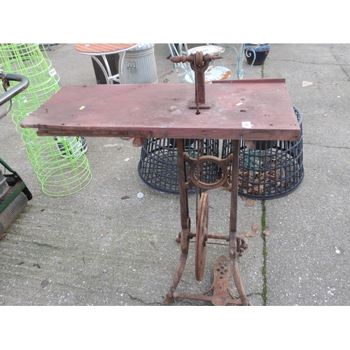50 - Treadle Operated Jewellers/Watchmakers Lathe...