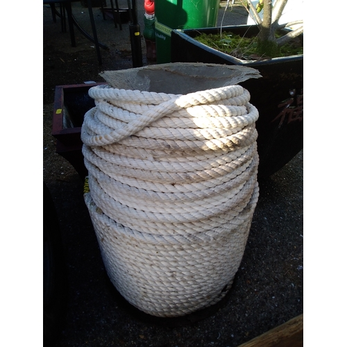 56A - Large Reel of Rope...