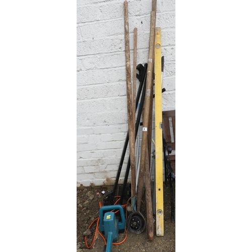 3 - Garden Tools - Hedge Trimmer etc...