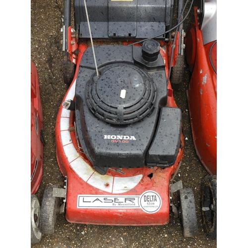 33 - Honda Petrol Engine Lawn Mower...