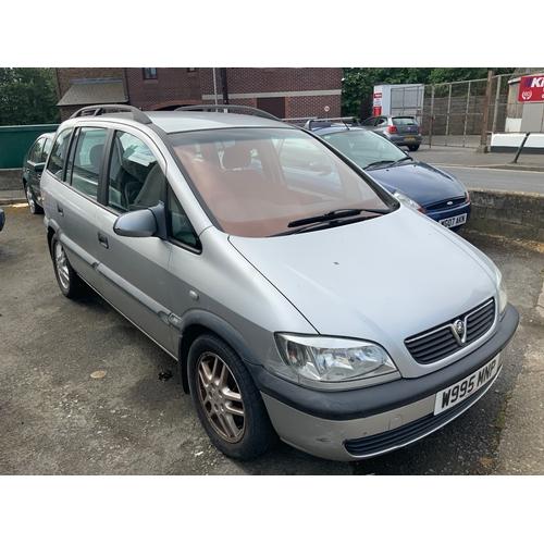 20A - Vauxhall Zafira 1.6 Petrol W995MNP...
