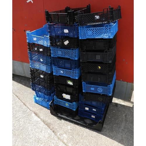 1 - Quantity of Plastic Mushroom Crates...