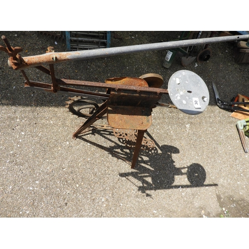 30 - Old Hobbies Treadle Operated Saw...