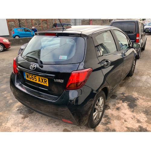 20E - Toyota Yaris Icon VVT-I Auto 5 door WG65AXR Reg date:30/09/2015  Direct from the executor, deceased ...