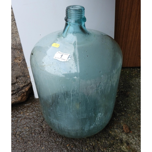 1 - Glass Carboy...