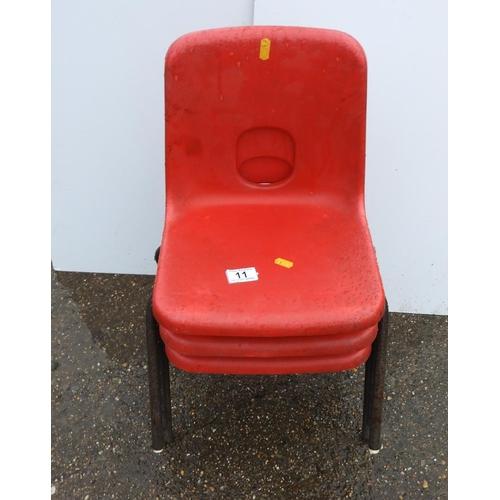 11 - Children's Stacking Chairs...